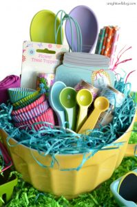 mixing bowl easter basket