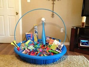 pool easter basket