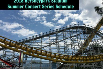 2018 Hersheypark Stadium Summer Concert Series Schedule