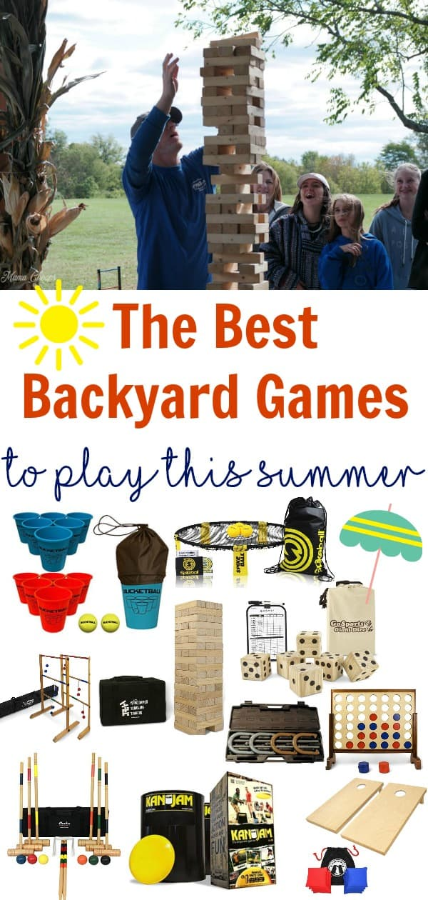 The Best Backyard Games to Play This Summer