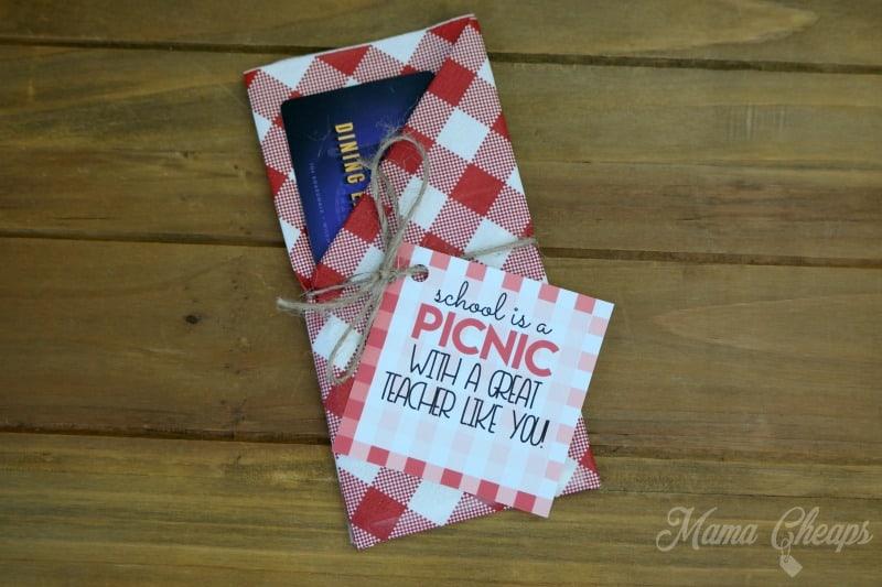 picnic teacher gift