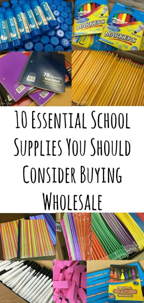 10 Essential School Supplies You Should Consider Buying Wholesale