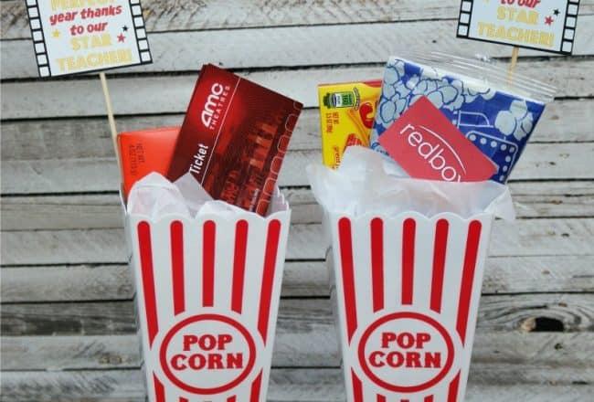 Movie Teacher Gift