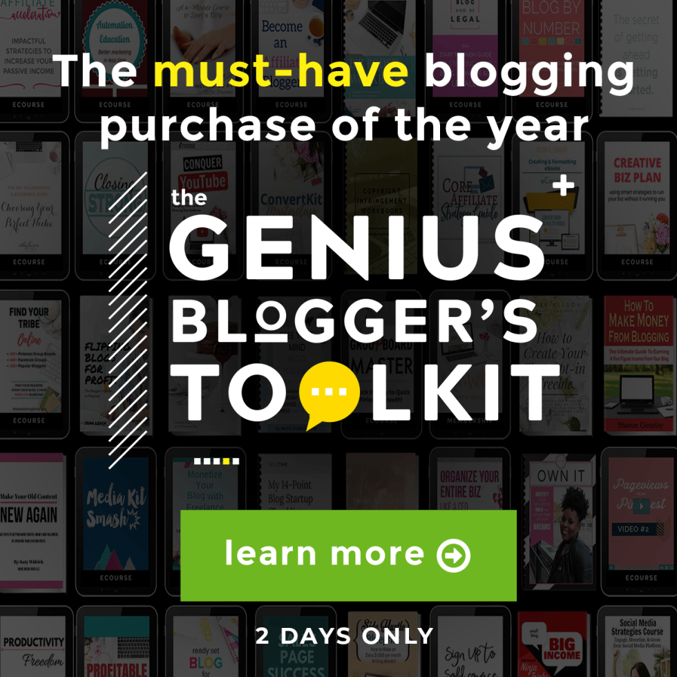 bloggers toolkit