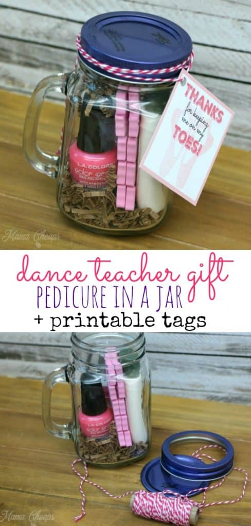 easy dance teacher gift