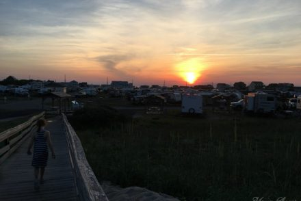 Cape Hatteras KOA Sunset