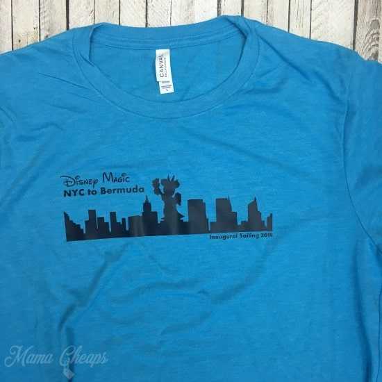 Disney Magic NYC Bermuda Shirt