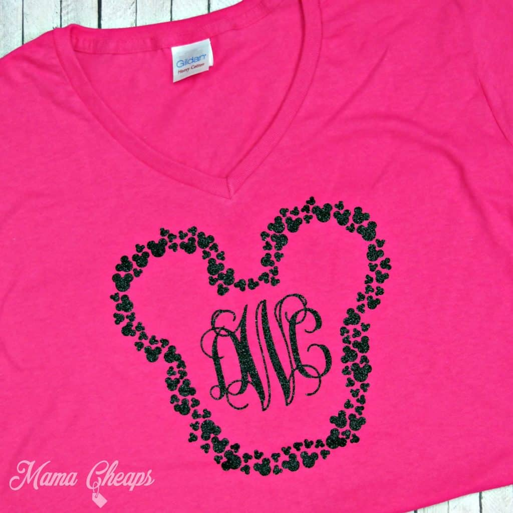 Mickey Head Monogram Shirt
