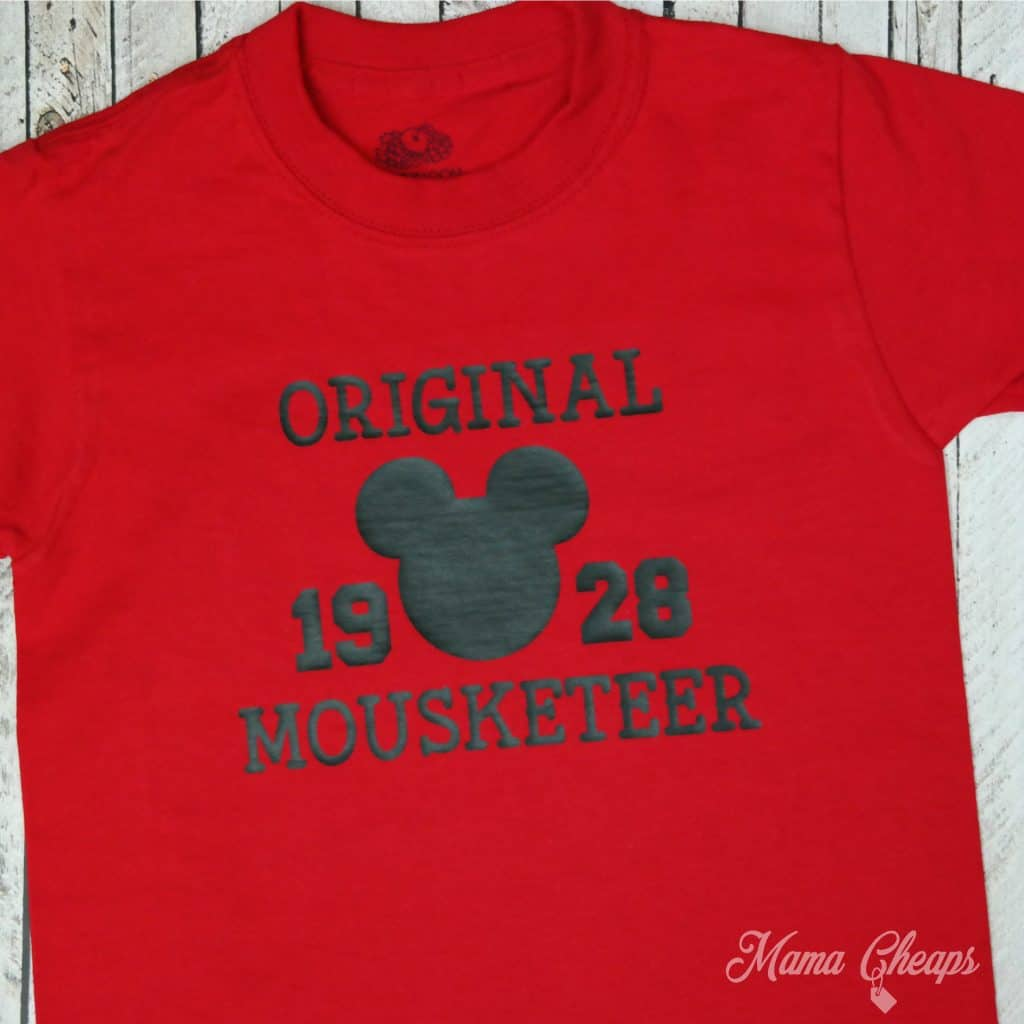Disney Mickey Original Mousketeer Shirt