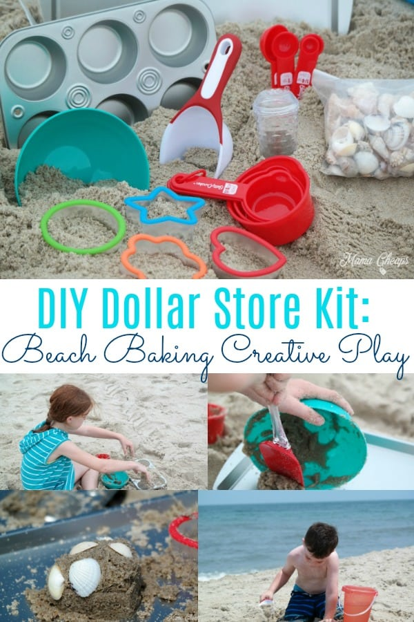 Dollar Store Beach Baking Kit