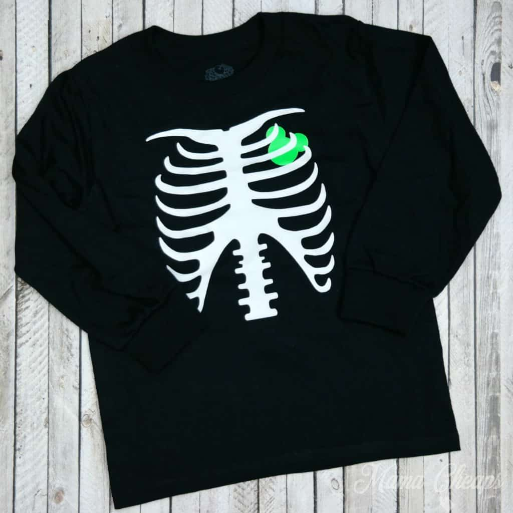 Mickey Skeleton Halloween Shirt