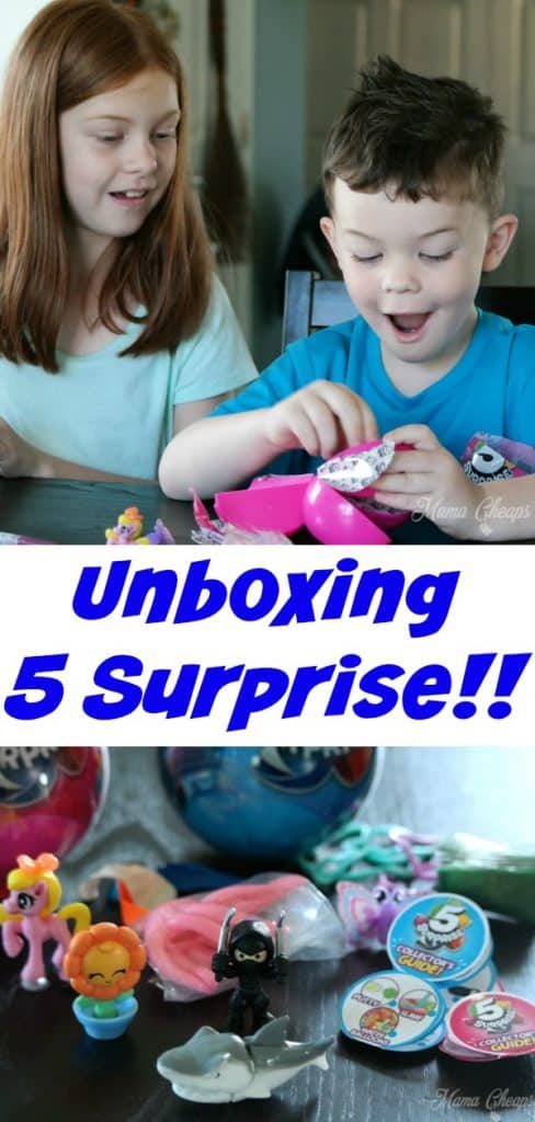 Unboxing 5 Surprise PIN