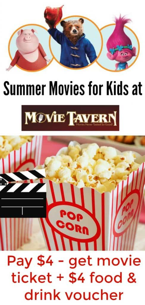 movie tavern summer kid movies