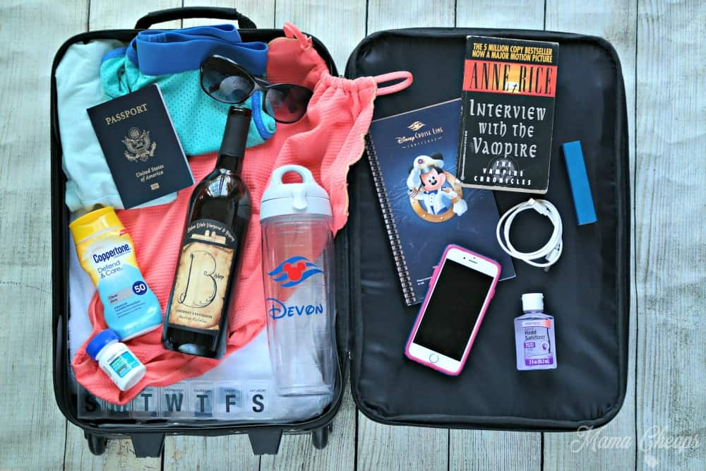 Cruise Carry On Bag Packing List And What You Dont Need