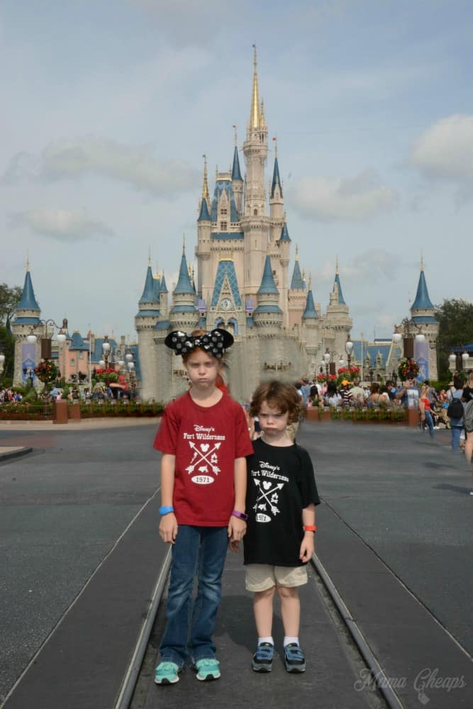 Cranky Kids in Disney MC