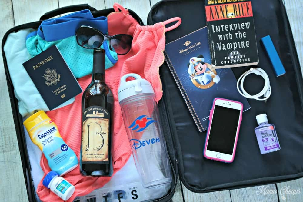 Cruise Carry On Bag Packing List And What You Don T Need Mama Cheaps