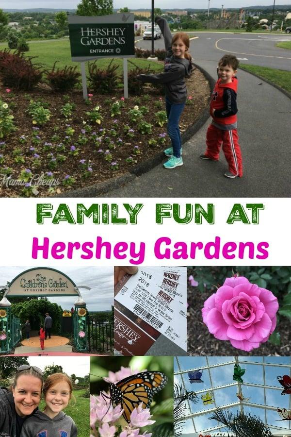 Family Fun at Hershey Gardens