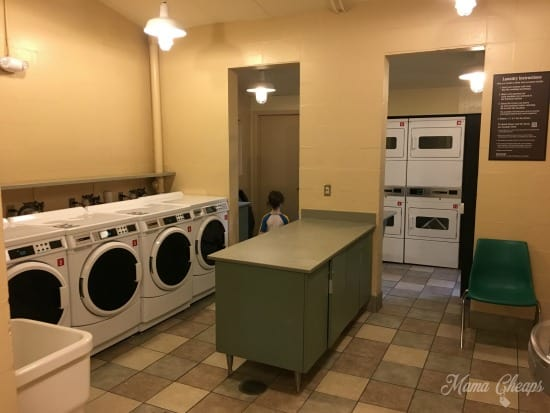 Fort Wilderness Laundry Room