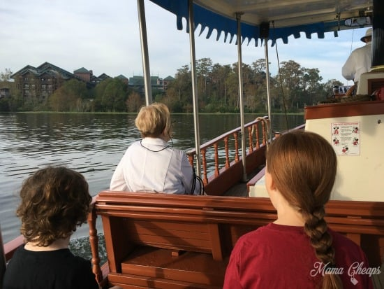 Fort Wilderness Water Taxi
