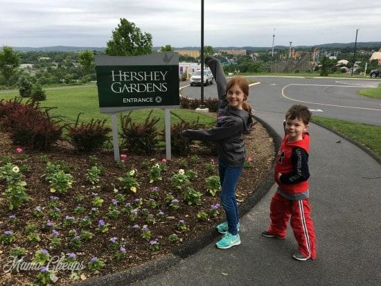 Hershey Gardens Entrance