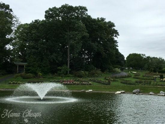 Hershey Gardens Fountain