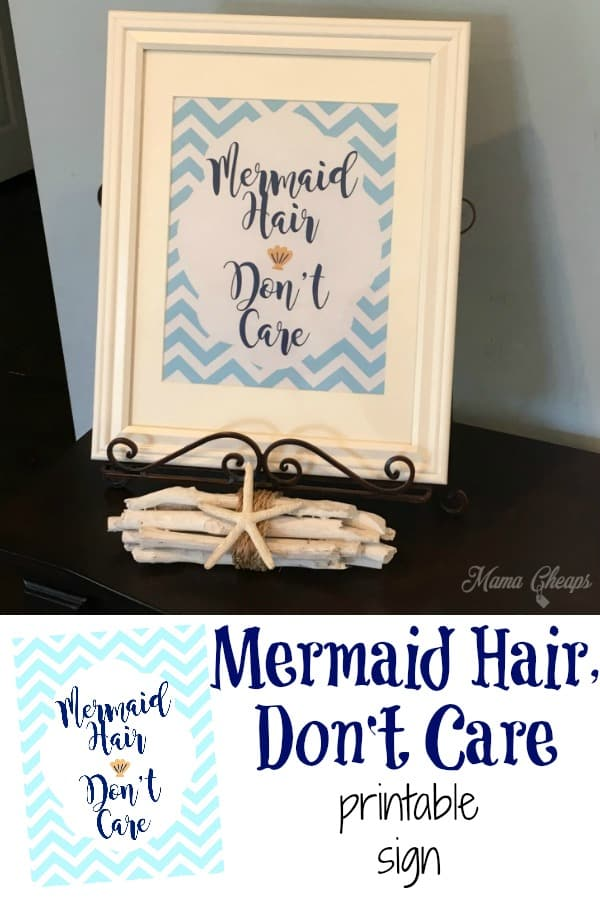 Mermaid Printable