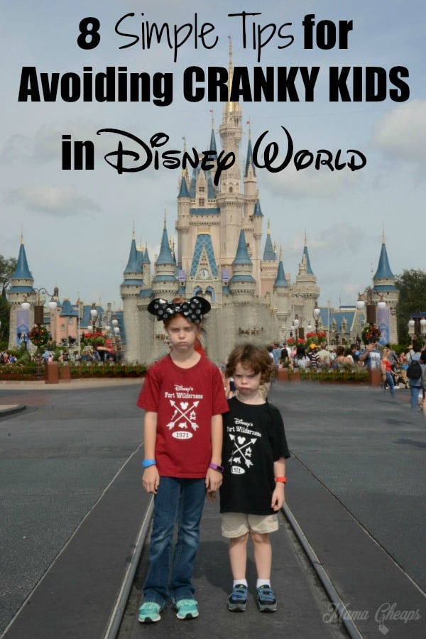 Tips for Avoiding Cranky Kids in Disney
