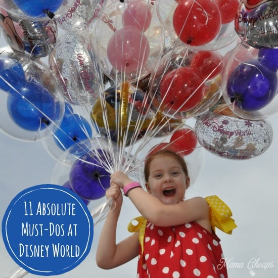 11 Absolute Must-Dos at Disney World