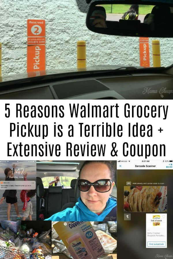 Walmart Grocery Pickup is a Terrible Idea + Extensive Review & Coupon
