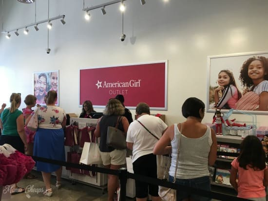 American Girl Outlet Store Tanger