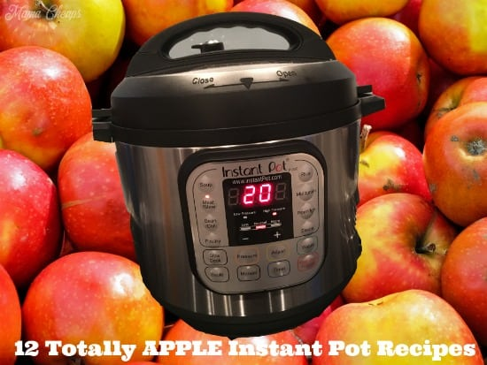 Apple Instant Pot Recipes Title