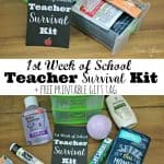 Teacher Survival Kit Gift Tag