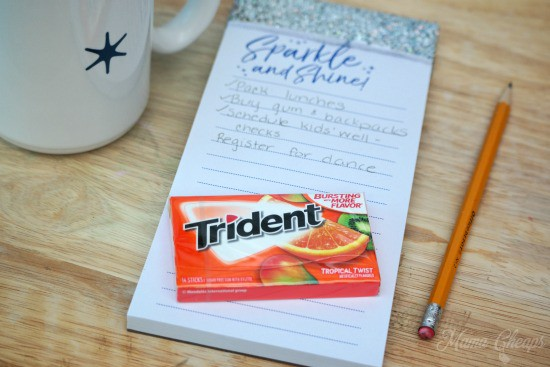 Trident Tropical Twist Gum
