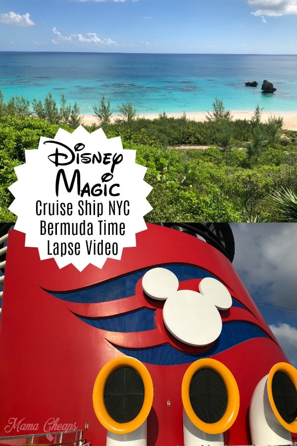 Disney Cruise Time Lapse
