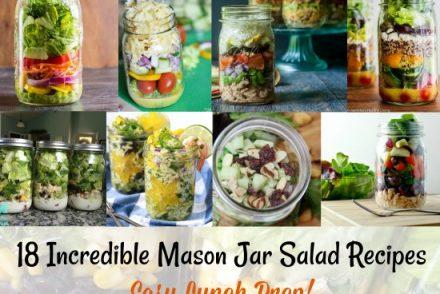 Incredible Mason Jar Salad Recipes