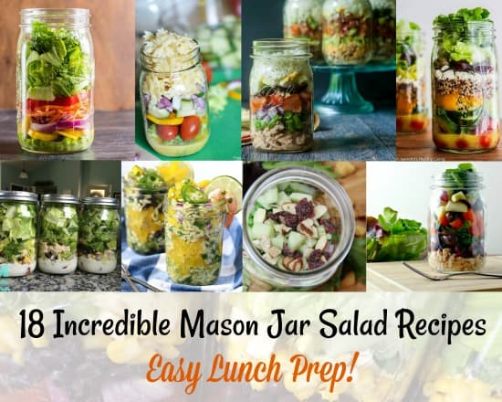 Incredible Mason Jar Salad Recipes