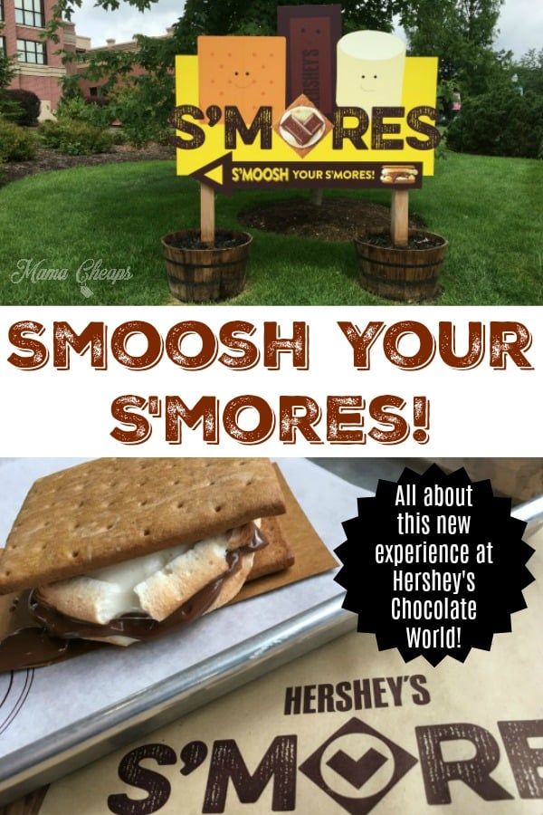 Smoosh Your S'mores Experience