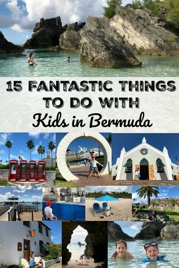 15 Fantastic Things to Do with Kids in Bermuda