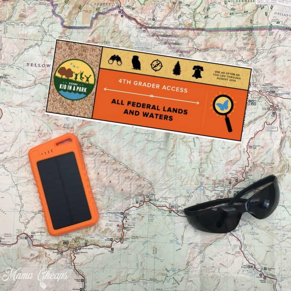 4th grade free national park pass