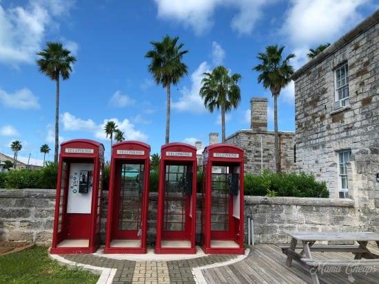 Bermuda Dockyard British Phonebooths