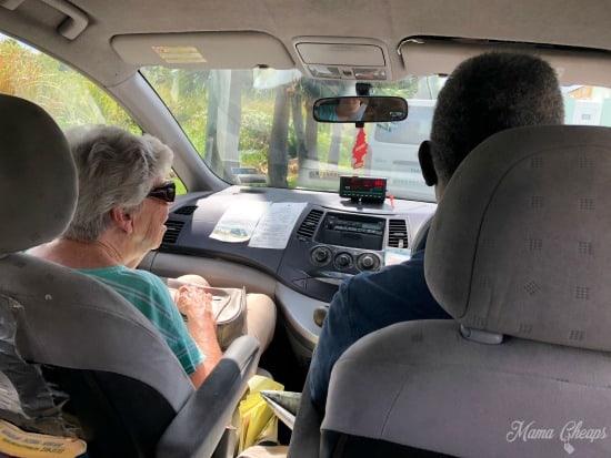 Bermuda Taxi Cab