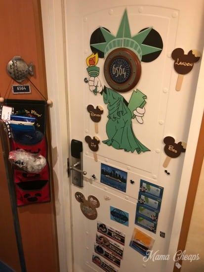 Disney Cruise Cabin 6564 Door Magnets