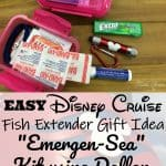 Disney Cruisae Emergency Kit Fish Extender