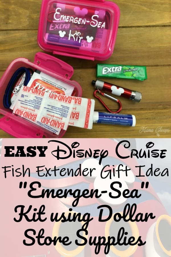 Disney Cruise Emergency Kit Fish Extender