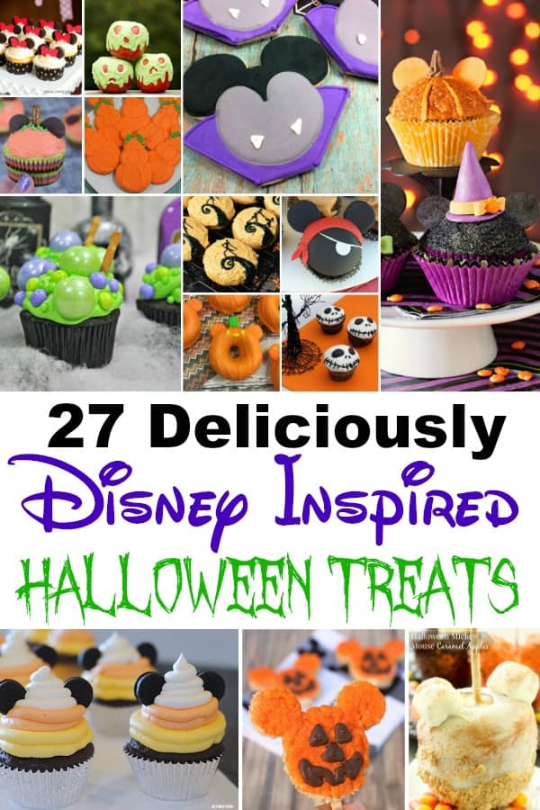 Disney Inspired Halloween Treats