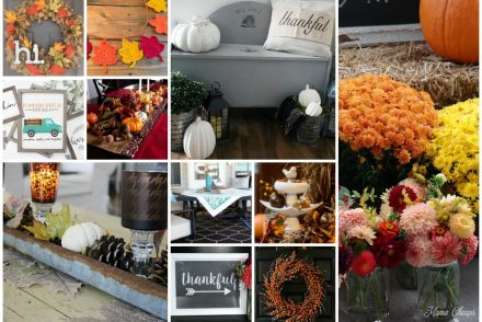 Fall Farmhouse Inspired Decor Featured