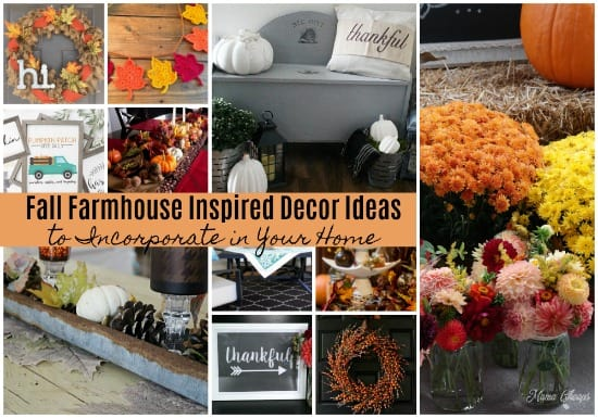 Fall Farmhouse Inspired Decor Ideas to Incorporate in Your Home