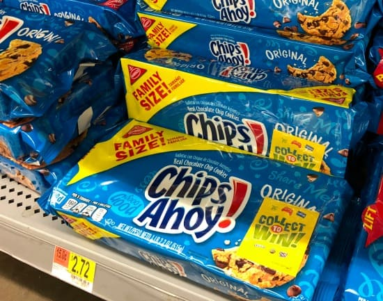 Family Size Chips Ahoy