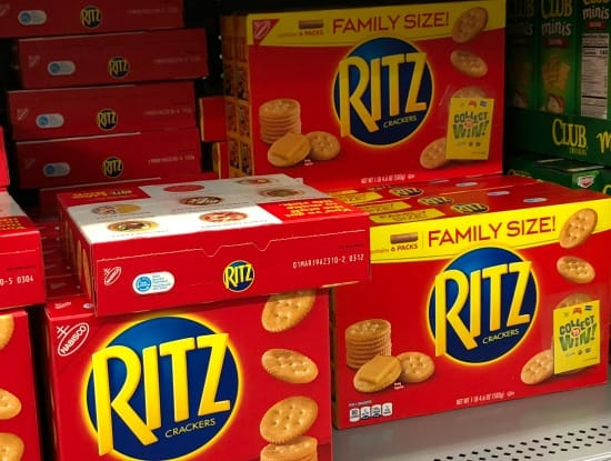 Family Size Ritz Crackers