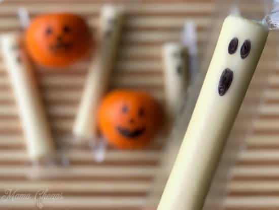Ghost String Cheese Up Close